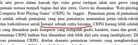 """...pemainnya memainkan peran tokoh & berkolaborasi u/ merajut sebuah cerita bersama. "" fffuuu"